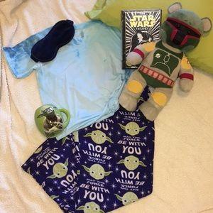 Other - Fleece Star Wars pajama bottoms